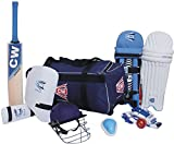 CW Academy Kashmir Willow Cricket Kit with Complete Accessories & Leather Ball (Size No.5 (Ideal for 9-10 Years Child))  Cricket Kit 51UfFdVx0DL