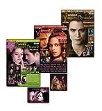 Icons Vampire Chronicle Twilight, limitiertes Bundle: 3 Ausgaben inkl. 18 XL-Poster + 12 Postkarten + 2 Sticker, Interviews mit Robert Pattinson, Taylor Lautner u.v.m.