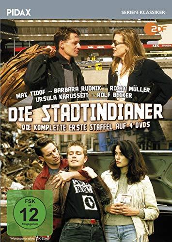 Die Stadtindianer, Staffel 1 / Die ersten 12 Folgen der Krimiserie (Pidax Serien-Klassiker) [4 DVDs]