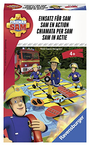 Ravensburger - 234301 - Jeu de Course - Fireman Sam - Sam en Action