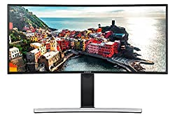 Samsung S34E790C 86,36 cm (34 Zoll) Curved Monitor (HDMI, USB, DisplayPort, 4ms Reaktionszeit, 3440 x 1440 , Pixel)