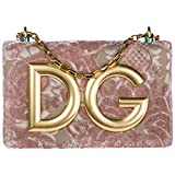 Dolce & Gabbana Umhängetasche Damen Tasche Schultertasche Messenger Leder DG Girls