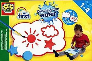 SES Creative My First - Pizarra de Dibujo para Colorear al Agua - Kits de Manualidades para niños (Kids