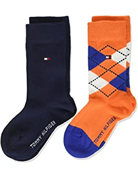 Tommy Hilfiger Jungen Socken, 2er Pack