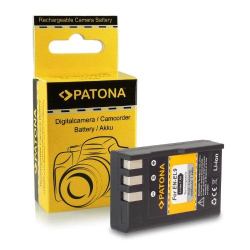 Batería EN-EL9 / EN-EL9a para Nikon D40 | D40x | D60 | D3000 | D5000
