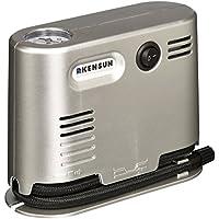 Kensun Pompa ad alta pressione portatile, con manometro, per gonfiaggio