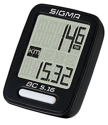Sigma Sport Fahrradcomputer BC 5.16
