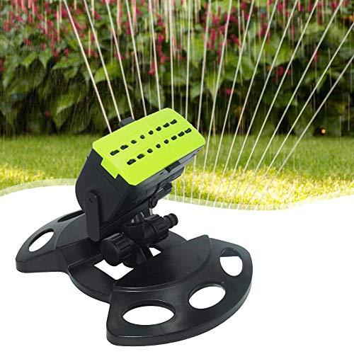 WSN Rasensprenger für,16 Löcher Garten Sprinkler Sprayer Swing Kunststoff Bewässerung Waterin Tools Garten Rasenbewässerung Kühlung Sprühkopf Autorotatio - Quadratmeter Kühlung
