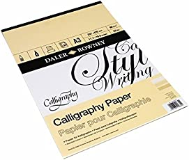 Daler-Rowney Calligraphy Pad A3