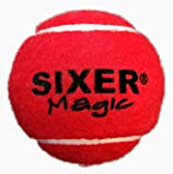 #8: Sixer Magic Cricket Tennis Balls , Pack of 6 (Red)