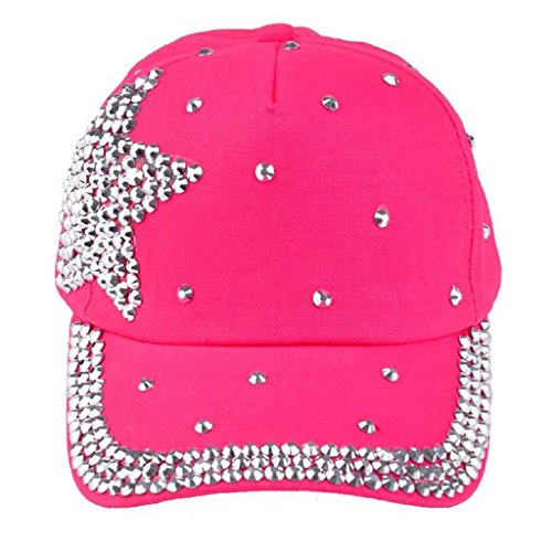 Koly - Bebé Sombreros y gorras, Sombrero Pesca Para Bebé Niños (Rosa Caliente)