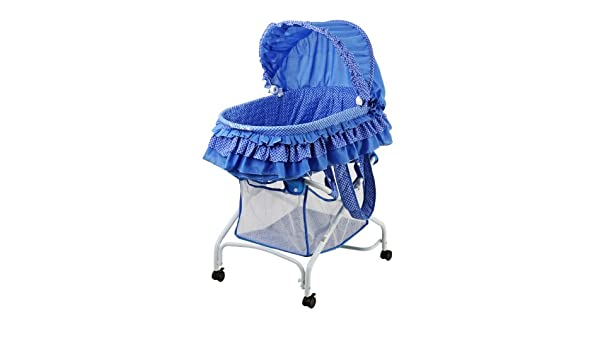 White Dream On Me Layla 2 in 1 Bassinet To Cradle