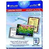 Atlas Clear A4 Size 125 Micron Laminating Sheet - FI-216X303X125
