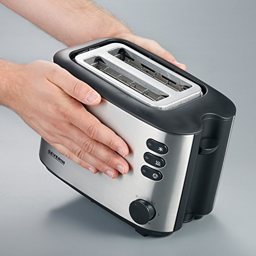 Severin AT 2514 Automatik-Toaster (850 Watt), edelstahl - 5