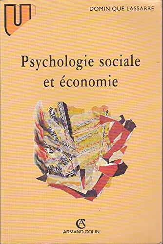 Psychologie sociale et économie