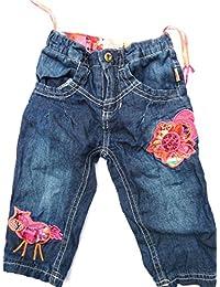 Pezzo doro Baby Mädchen Jeans, blau gefüttert M31001 gr.74