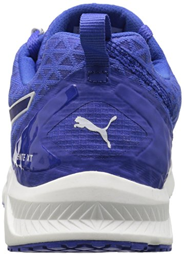 Puma IGNITE XT FILTERED WNS Synthétique Baskets Dazzling Blue-White