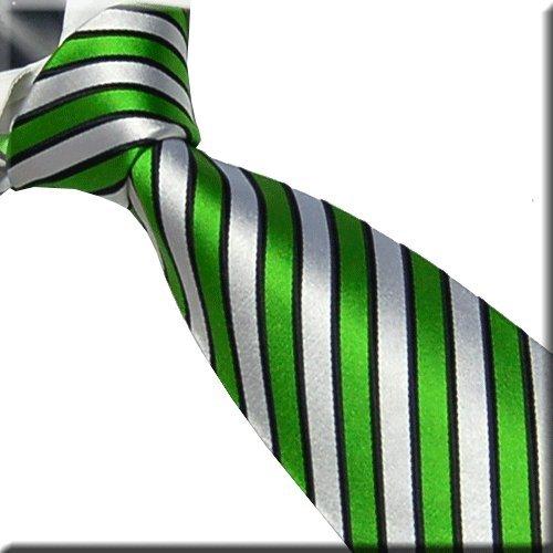marc-philippe-handmade-silk-tie-neon-bright-green-black-and-white-stripes