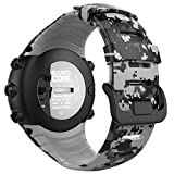 MoKo Suunto CORE Watch Cinturino, Braccialetto di Ricambio in TPU Morbido con Gancio Metallico per Suunto CORE Smart Watch, per Polso 5.51-9.06 (140mm-230mm), Camuffamento Digitale
