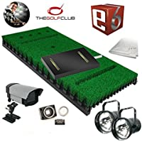 PROTEE Base Pack Two Golf Simulator with Putting Sensor TGC and TruGolf E6 software package