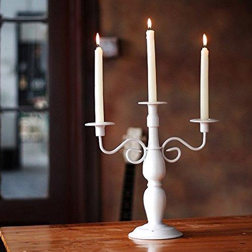 chzll europäischen klassischen drei Schmiedeeisen-Dekoration, kreative Tisch Kandelaber Dekoration 1 -