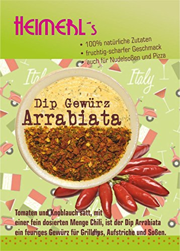 HEIMERLs Gewürz Set Hot Shot - Dip Arrabiata 80g, Dip Mexiko 80g, Dip Cafe de Paris -Original- 80g
