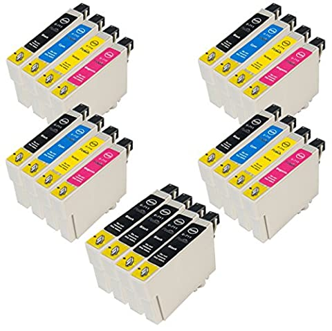 4 sets + 4 extra Black of Compatible Epson ink