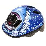 Meteor, casco da bicicletta per bambini, casco per skater. Casco di sicurezza , squalo, 48-52 cm