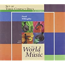 Three CD Set for Use with the World of Music