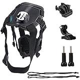 LuxeBell® Fetch - Harnais ceinture pectoral pour chien compatible Go Pro Hero 4, 3+,3, 2