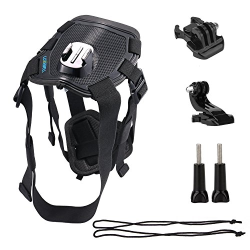 hundeinfo24.de Luxebell® Zubehör Fetch Hundegeschirr für GoPro Hero HD 1/2/3/3+/4