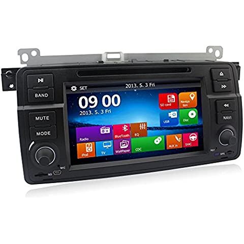 A Sure SAT NAV Autoradio DVD GPS Navi CD SD