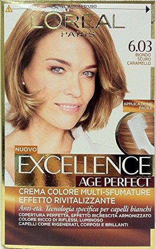 Excellence Creme Farbstoff Dunkelblond Karamell 6,0340ml