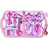 PLAY DESIGN Doctor Kit Toys For Kids, Doctor Kit Pretend Play Doctor Playset Medical Carrycase Nurses Toy Set Fun Toy Gift Early Education For Kids (MULTI COLOR)