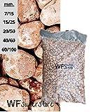 WUEFFE S.R.L. Ciottoli di Marmo Rosso Verona - Sacco da 25 kg - Sassi Pietre Giardino (15/25)