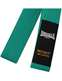 Lonsdale Herren Budoguertel Kampfkunst Kampfsport Guertel Judoguertel Karateguertel