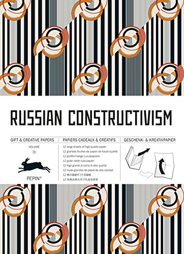 Russian Constructivism: Gift & Creative Paper Book Vol. 76 (Gift & Creative Papers Vol 76)