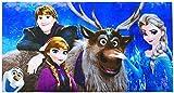 Disney Frozen Die Eiskönigin Strandtuch/Badetuch, 70 x 140 cm, Art. 3194