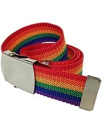Stoffgürtel Regenbogen