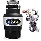 TritaRifiuti Dissipatore ZeroTrash ForHome Dissipatore di Rifiuti Organici per Casa Sotto Lavello - mod. 400-1/2HP