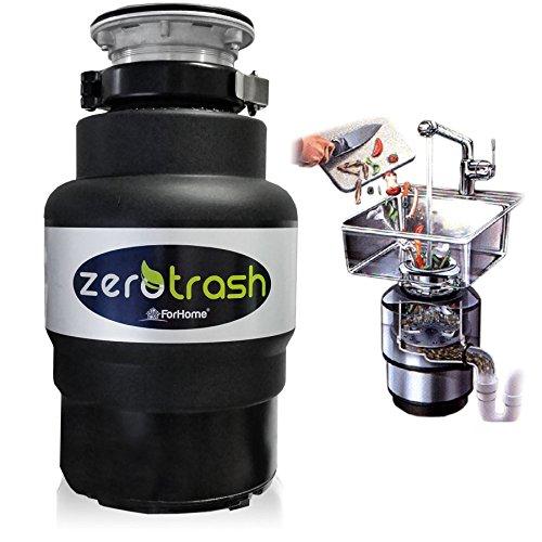 TritaRifiuti Dissipatore ZeroTrash ForHome® Dissipatore di Rifiuti Organici per Casa Sotto Lavello - mod. 400-1/2HP
