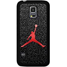 Michael Jordan Brand Logo Samsung Galaxy S5 I9600 Funda Carcasa, Trendy Samsung S5 Tough Back Dura Carcasa Cover