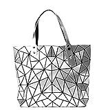 BUOU Damentasche Henkeltasche Geometrische Tasche Schultertaschen Umhängetaschen Damen Shopper...