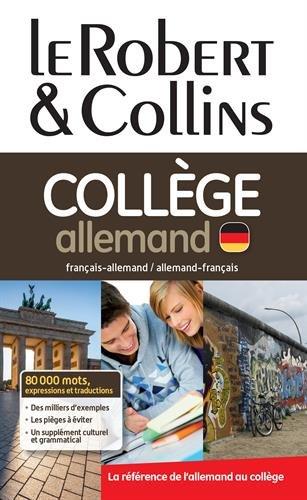 Le Robert & Collins Collège allemand : Dictionnaire allemand-français/français-allemand