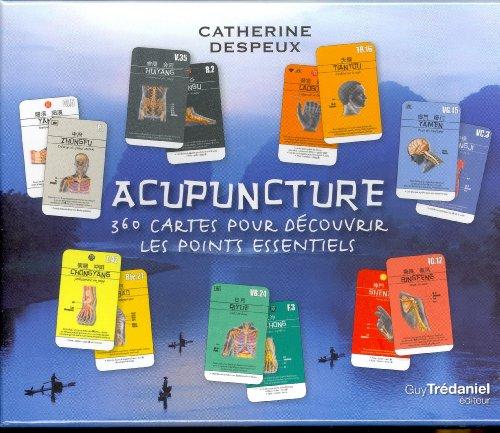 Acupuncture : Coffret 360 cartes pour dcouvrir les points essentiels