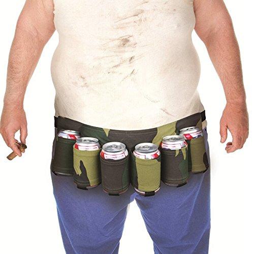 Hrph novità sport viaggio arrampicata cinture di birra bevande belt carry bag alpinismo borse vita per gift & parti bere, camouflage