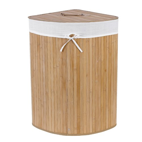 songmics-57l-triangle-bamboo-laundry-basket-box-with-lids-lcb46s