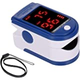Pulsioxímetro de dedo, saturación de oxígeno en sangre, monitor de SpO2 y PR 8S, medición rápida, medidor de frecuencia del p