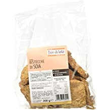 Fior di Loto Bistecche di Soia - 4 pezzi da 200 g [800 g]