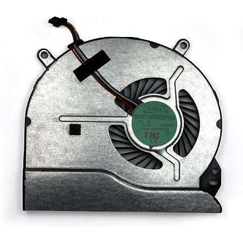Fasttop Ventilador reemplazo para HP Pavilion 15 Sleekbook 15-b139TU 15-b140nr 15-B143CL 15-b174er 15-b197sl 15T-B000